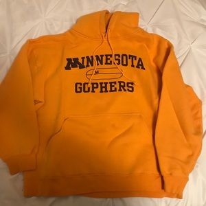 Yellow Minnesota Gophers Hoodie